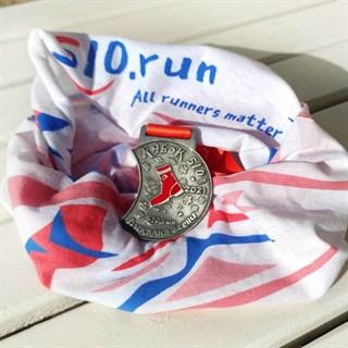 Бафф + медаль Кубка S10 в наборе. Дыхалка осени. S10 CUP 2021